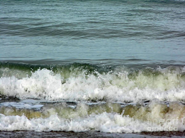 Photograph - Surf At Vero Beach by D Hackett