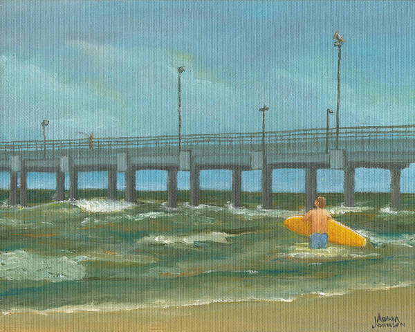 Painting - Surf Bound by Adam Johnson