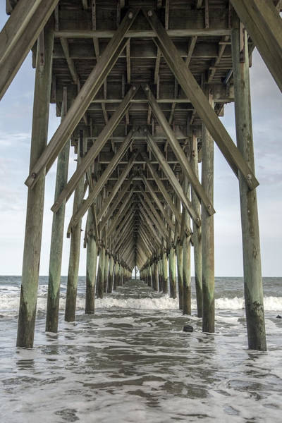 Wall Art - Photograph - Surf City Pier Classic by Betsy Knapp