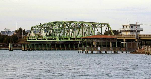 Wall Art - Photograph - Surf City Swing Bridge by Cynthia Guinn