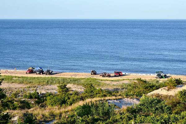 Photograph - Surf Fishing At Cape Henlopen by Kim Bemis