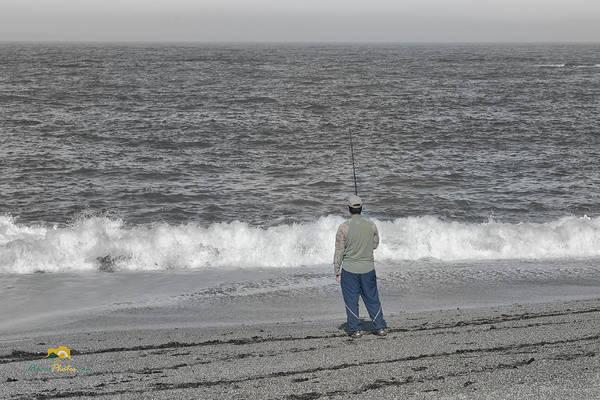 Photograph - Surf Fishing by Jim Thompson