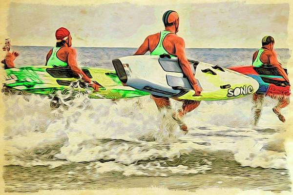 Photograph - Surf Hopping by Alice Gipson