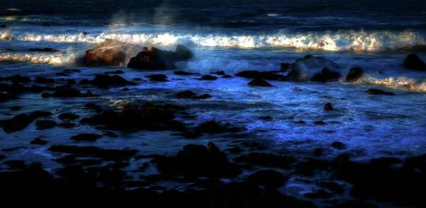 Photograph - Surf Light by Jerry Sodorff