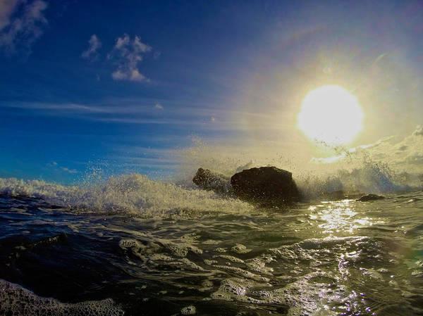 Photograph - Surf Line Sunset by Steven Lapkin