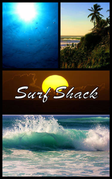 Photograph - Surf Shack by Brad Scott