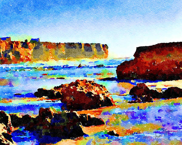 Painting - Surf The Headlands by Angela Treat Lyon