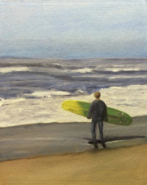Painting - Surf Time by Dennis Sullivan