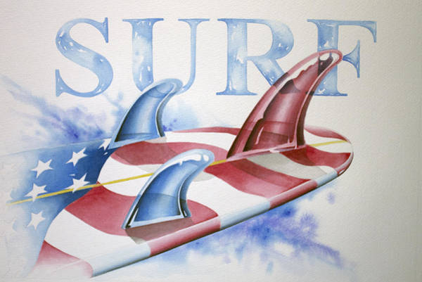 Photograph - Surf Usa by William Love