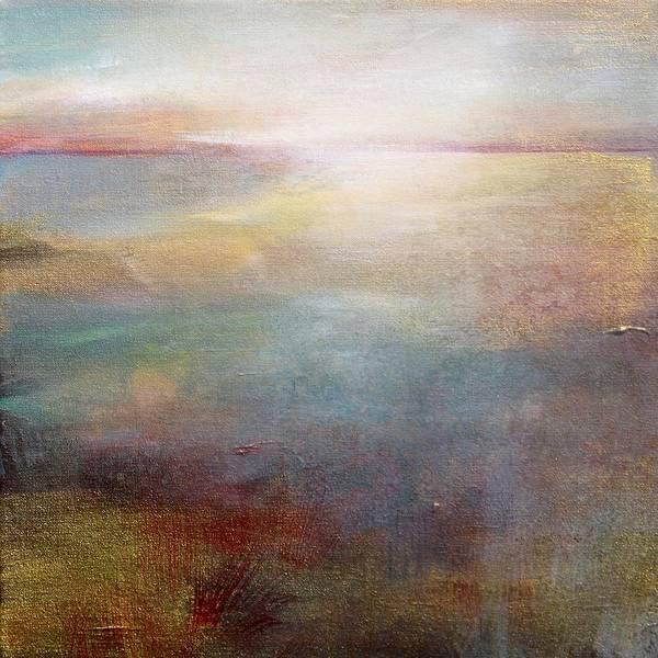 Wall Art - Painting - Surface Light by Karen Hale
