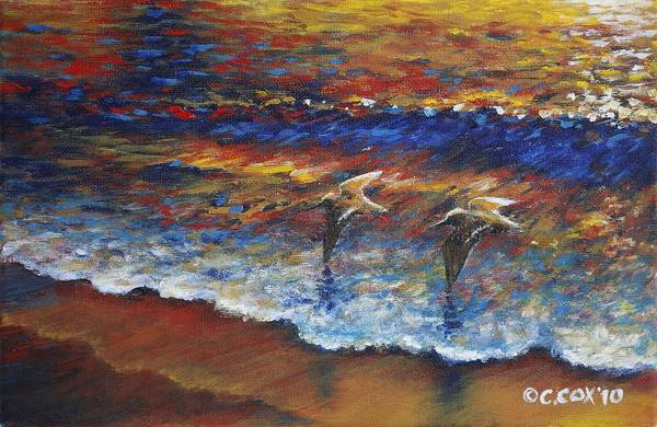 Painting - Surfbirds by Christopher Cox