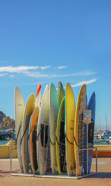 Wall Art - Photograph -  Surfboards by Art Spectrum