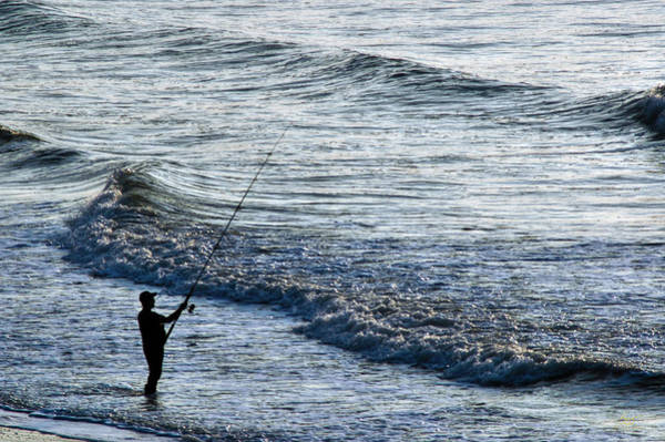 Photograph - Surfcasting by Sam Davis Johnson