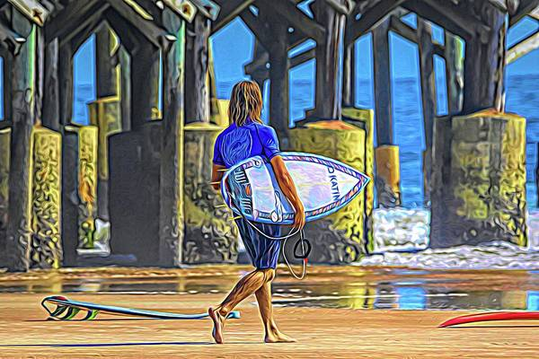 Photograph - Surfer Blues by Alice Gipson