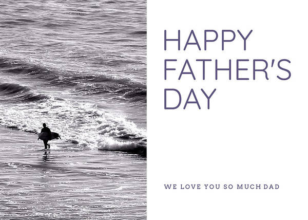 Photograph - Surfer Dad by Alison Frank