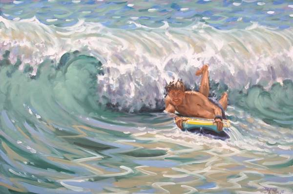 Painting - Surfer by Gary M Long