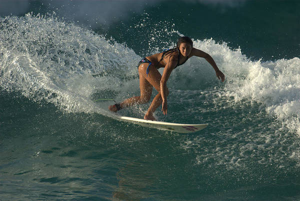 Photograph - Surfer Girl by Brad Scott
