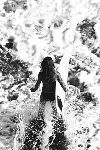 Wall Art - Photograph - Surfer Girl by Totto Ponce