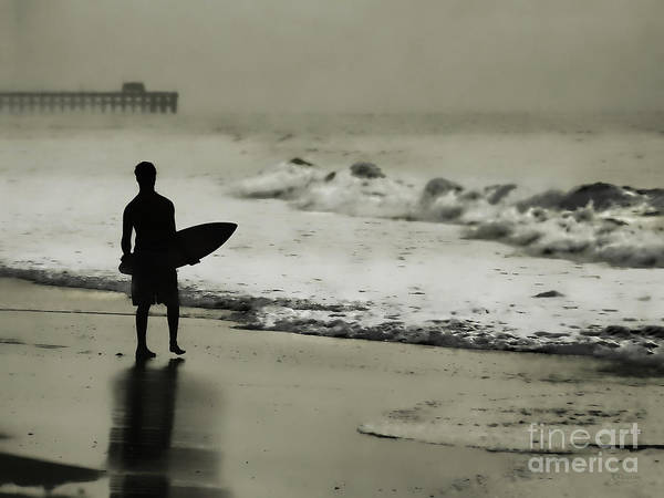 Photograph - Surfer Silhouette by Jeff Breiman