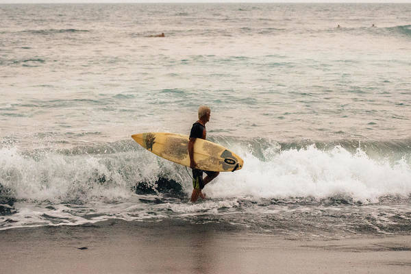 La Libertad Photograph - Surfer  by Totto Ponce