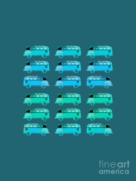 Surfer Digital Art - Surfer Vans Pattern by Edward Fielding