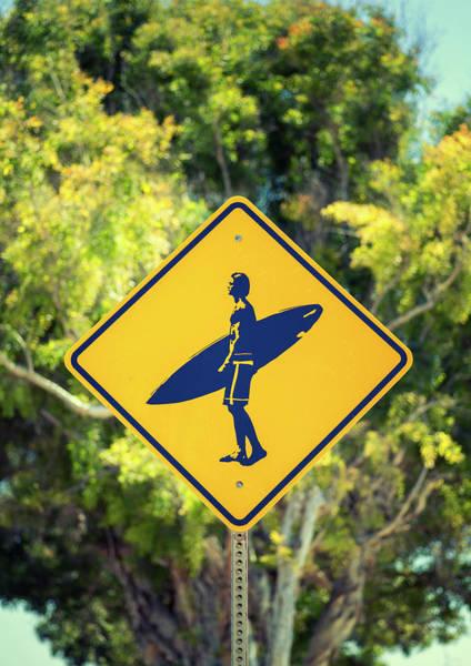 Surfer Xing 2 Art Print