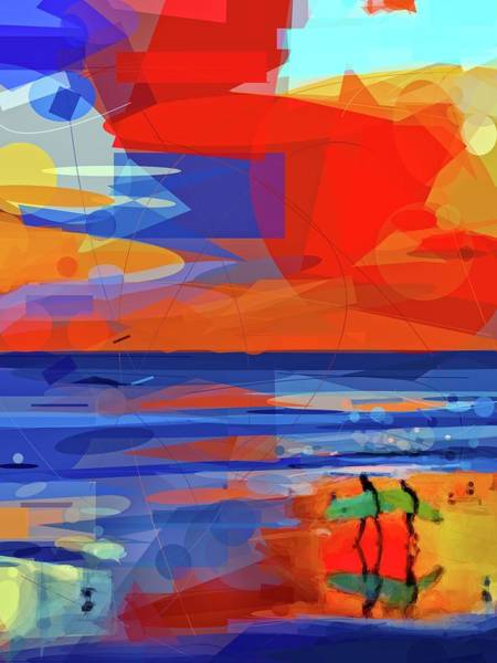Photograph - Surfers Abstract by Alice Gipson