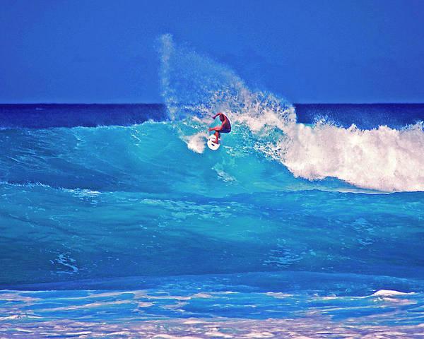 Photograph - Surfer's Aura by Bette Phelan