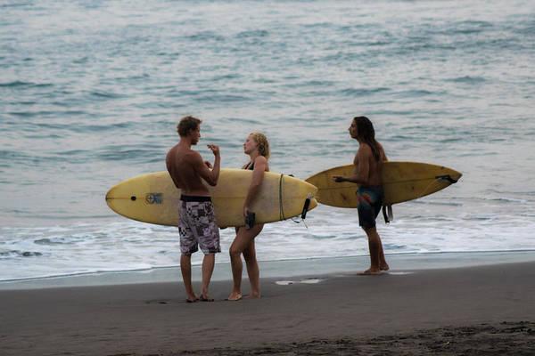 La Libertad Photograph - Surfers I by Totto Ponce