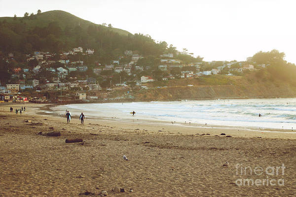 Photograph - Surfers Just Before Sunset by Cindy Garber Iverson