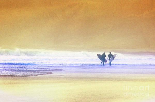 Photograph - Surfers by Scott Kemper