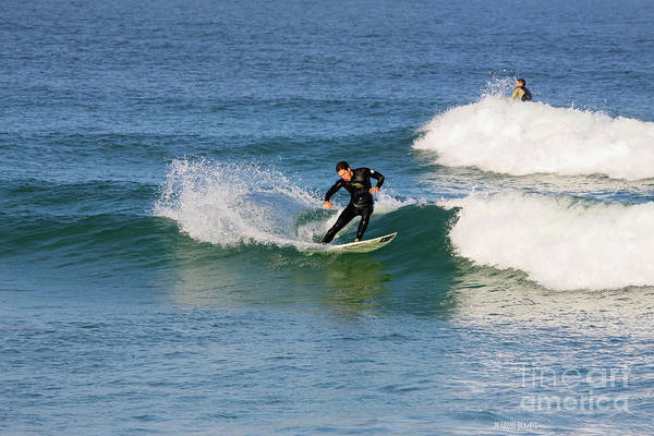 Photograph - Surfing In Florida 2 by Deborah Benoit