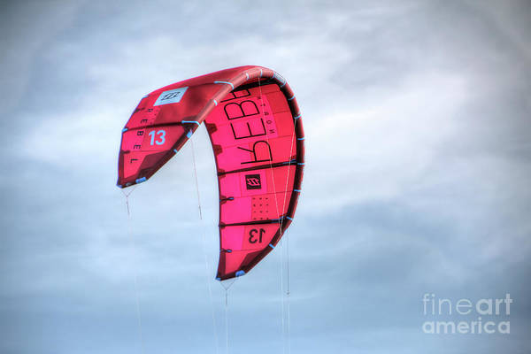 Photograph - Surfing Kite by LR Photography