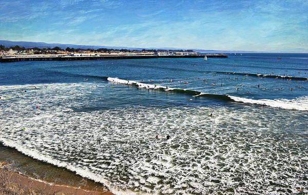 Photograph - Surfing Santa Cruz by Glenn McCarthy Art and Photography