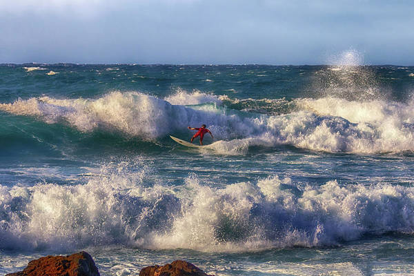 Photograph - Surfing The Angry Sea by Susan Rissi Tregoning