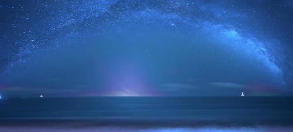 Bahia Honda Photograph - Surfing The Milky Way by Mark Andrew Thomas