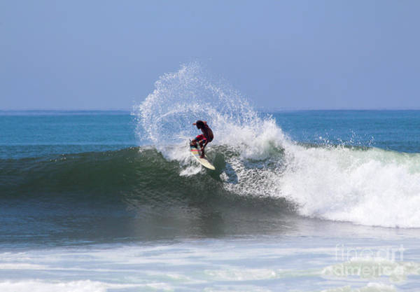 El Salvador Photograph - Surfing The Waved. by Eyal Aharon