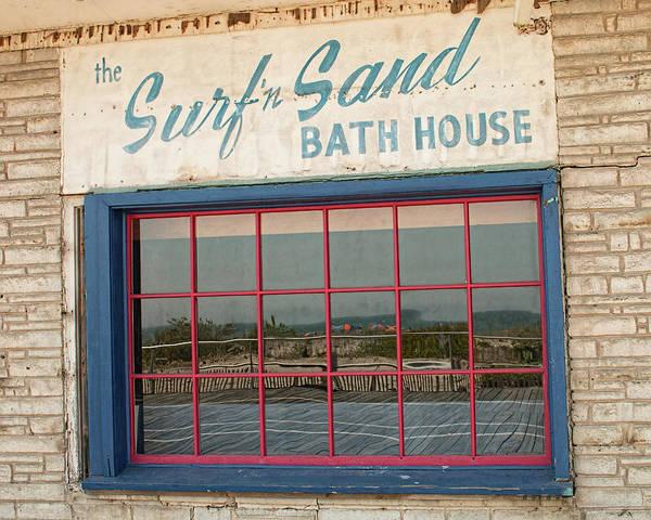 Photograph - Surf'n Sand Bath House  by Kristia Adams