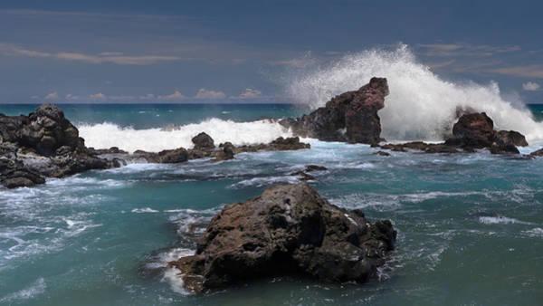 Photograph - Surf's Up At Ho'okipa by Susan Rissi Tregoning