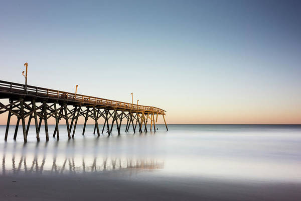 Wall Art - Photograph - Surfside Beach Pier Mathew Aftermath by Ivo Kerssemakers