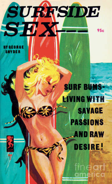 Painting - Surfside Sex by Unknown Artist