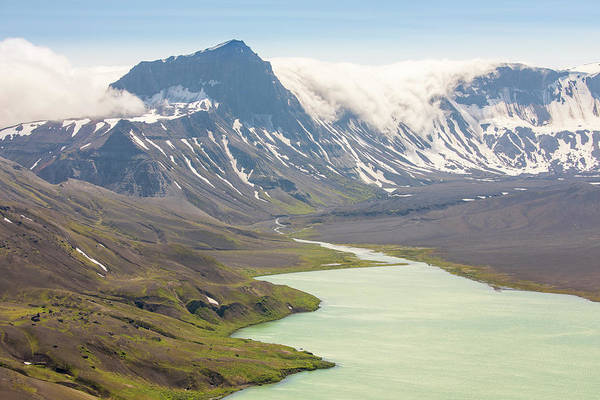 Wall Art - Photograph - Surprise Lake In Aniakchak Crater by Tim Grams