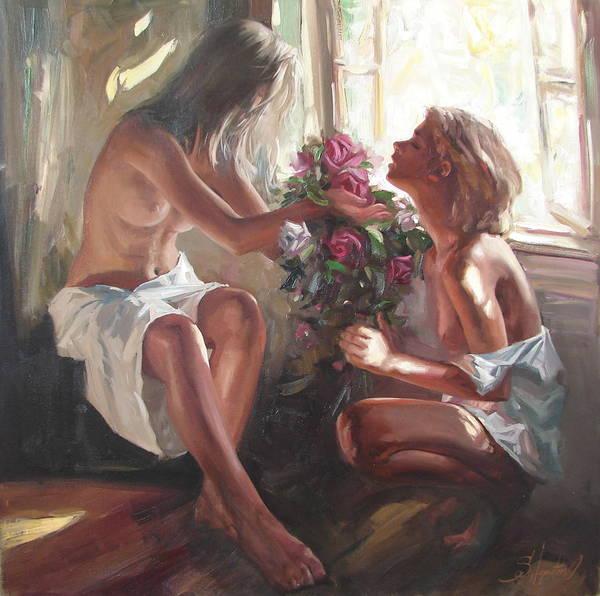 Ignatenko Painting - Surprise by Sergey Ignatenko