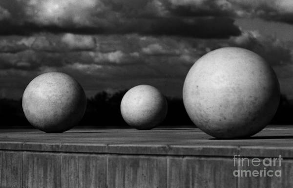 Wall Art - Photograph - Surreal Globes by Peter Piatt