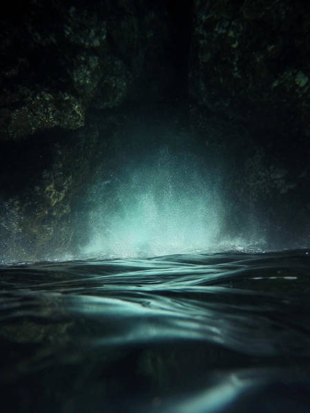 Dark Green Wall Art - Photograph - Surreal Sea by Nicklas Gustafsson