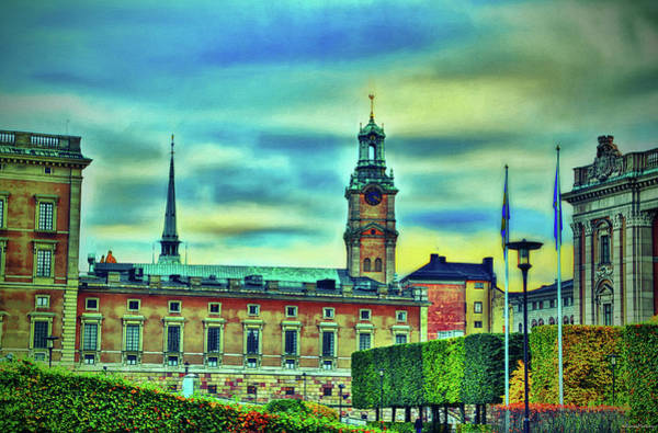 Wall Art - Digital Art - Surreal Stockholm V by Ramon Martinez