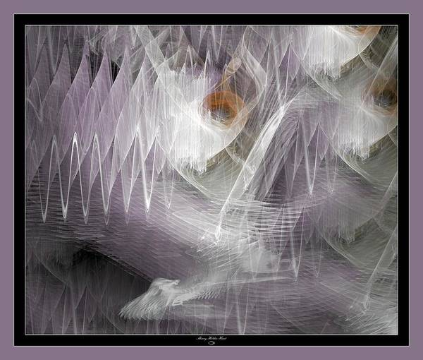 Manipulated Digital Art - Surrond Sound by Sherry Holder Hunt