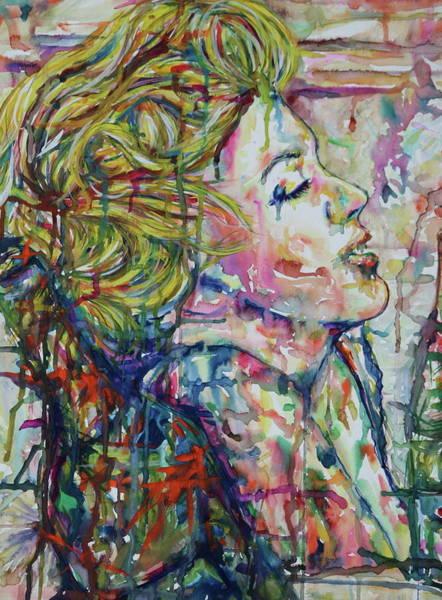 Mixed Media - Surround Marylin by Joseph Lawrence Vasile