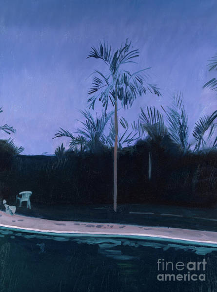 Pool Painting - Susan And Roy's Pool by Alessandro Raho