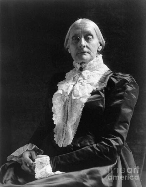 Photograph - Susan B. Anthony (1820-1906) by Granger